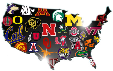 college football players by state college game day